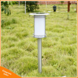 Lâmpada solar ao ar livre do gramado do jardim da luz do diodo emissor de luz pólo para a iluminação da decoração da paisagem