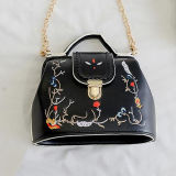 Signora in linea ricamata alla moda Crossbody Bag From Alibaba Cina Sy8569 di buona qualità delle borse delle donne di Hotsale dei piccoli sacchetti
