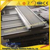 Fontes de alumínio da fábrica de China que contornam o perfil do armário do perfil