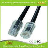 cabo de LAN de cobre de 24AWG 100MHz UTP Cat5e