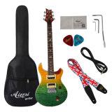 Guitarra elétrica do estoque da venda por atacado da fábrica da alta qualidade