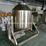 Mélangeur à cylindre rotatif de poudre de gelée de noix de coco d'acier inoxydable