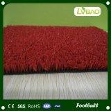 テニスコートのための耐久の緑の赤い人工的な草