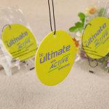 Perfume propio logotipo papel Auto Coche personalizado Scent Ambientador (YH-AF564)