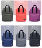 Sac à dos coréen vert de sports en plein air de sac d'ordinateur portatif de sac à dos de course de loisirs de sac d'épaule de double de toile d'armée