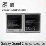 Batterie initiale Samsung 2 grands de téléphone mobile pour Sm-G7106 G7108V Eb-B220AC