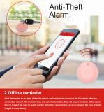 Il mini allarme antifurto Anti-Perso Bluetooth dell'allarme antifurto Anti-Perde l'inseguitore di GPS con l'applicazione libera--Regali di festa più poco costosi