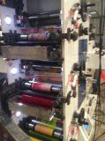 Flexographische Drucken-Maschine mit stempelschneidener Drehstation