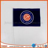 Comercio al por mayor de promoción de logotipo personalizado bandera de la mano de papel impreso