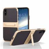 2 in 1 PC&TPU mit Holden Deckel-Fall für iPhone X