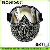 Sport-Schutzbrillenmotocross-Schutzbrillen mit Schablone