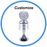 Candelabro de cristal de la India la decoración de bodas jarrones de mesa piezas centrales
