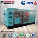 중국 50Hz 100kw 침묵 디젤 엔진 발전기 125kVA 3phase 닫집 발전기