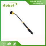 Pistola di acqua lunga degli strumenti di giardino Spray Bacchetta d'innaffiatura della lancia 5-Pattern