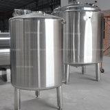 Бак для хранения нержавеющей стали горизонтальный/вертикальный химически