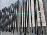 ポイントおよび平らなヘッドが付いている低下によって造られるカラス棒