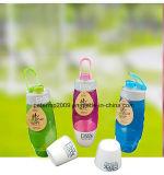 Fles van het Water van de Student van het Volume van de Gift van de Douane van pp de Grote Plastic