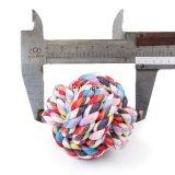 Großhandelshaustier-zusätzliche Baumwolseil-Hundespielzeug-Kugel