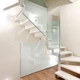 박판으로 만들어진 유리 실내 뜨 계단 가격
