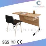 Schule-Projekt-Doppelsitz-Kursteilnehmer-Schreibtisch MDF-Trainings-Tisch (CAS-SD1804)
