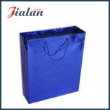Выполненный на заказ сплошной цвет голографический подарок несущей покупкы бумажный мешок