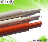 Tube en plastique du protecteur de câblage électrique du câble PVC canalisation avec la prise fin