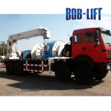 최고 직업적인 사용을%s 질 Boblift 트럭 화물 자동차에 의하여 거치되는 기중기