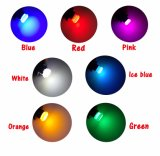 Цветастый популярный шарик света карты СИД шариков СИД светильника 1W флуоресцирования автомобиля СИД T10 автоматический
