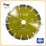 190mm diamant sec la lame de scie Power Tools Hot-Pressed Disque de coupe