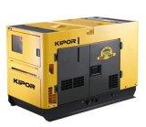 침묵하는 발전기 또는 전기 디젤 엔진 발전기 100kw/125kVA 방음 디젤 엔진 발전기