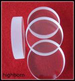 Borrar la placa de cristal de cuarzo en 20mm de pared gruesa