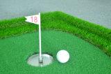 Golfe supremo da qualidade 3D que bate a almofada do golfe da esteira para a escala de condução