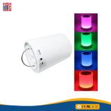 양 공급 직업적인 선전용 선물 방수 휴대용 오디오 LED 램프 접촉 센서 Bluetooth 무선 스피커