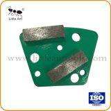 Горячая продажа трапецеидального шлифовки пластина для конкретных шлифовки