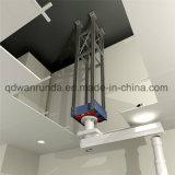 El HDG o pre galvanizado telescopando el tubo/perforó el tubo