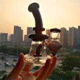 Tubo di vetro di vetro del tubo di fumo dell'acqua del riciclatore di Bontek