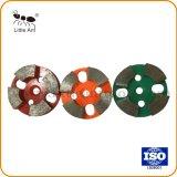 4 сегментов металлические Бонд Diamond кроссовок для конкретных Шлифовальные инструменты