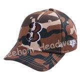 カムフラージュのスポーツの刺繍ハンチング帽子