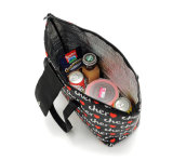 sac thermo en cuir portatif de déjeuner de l'unité centrale 15L pour le sac thermique isolé par sac d'entreposage en cadre de déjeuner de sac de refroidisseur de pique-nique de nourriture de femmes