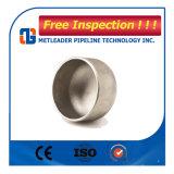Autógena de tope de la instalación de tuberías Sch40 casquillo de la instalación de tuberías de acero inoxidable de 10 pulgadas