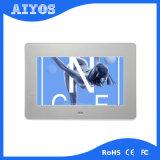 넓은 보기 각을%s 가진 공장 직매 금속 정면 영상 LCD 디지털 사진 프레임