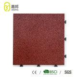 Couvre-tapis en caoutchouc réutilisés décoratifs incassables bon marché de carrelages de matériaux de construction de Guangdong Foshan Jiabang