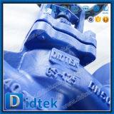 Válvula de globo caliente euro del bramido del estruendo de la venta de Didtek