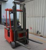 드는 고도를 가진 3개의 바퀴 전기 포크리프트 3000 mm 및 수용량 1500 Kg