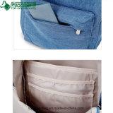 卸し売り新しく粋なキャンバスのジーンズのバックパックのカスタムキャンバスのバックパック袋