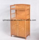 L'étagère de crémaillère de four microondes à Nanzhu d'étagère de cuisine reçoivent l'étagère de livre d'armoire de compartiment (M-X3386)
