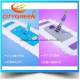 2017 produits de vente chauds Microfiber nettoyant la lavette plate industrielle