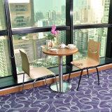 Tavola rotonda di disegno semplice della mobilia moderna del ristorante per 2 persone