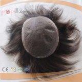 가득 차있는 레이스 브라질 머리 남자의 가발 (PPG-l-01497)