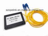 Rete wireless per la scatola di plastica di fibra ottica del PLC 1X2 per i sistemi di CATV